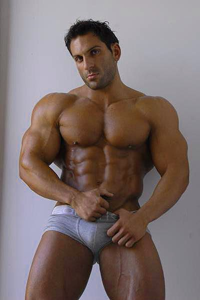 Nude male egyptian bodybuilders