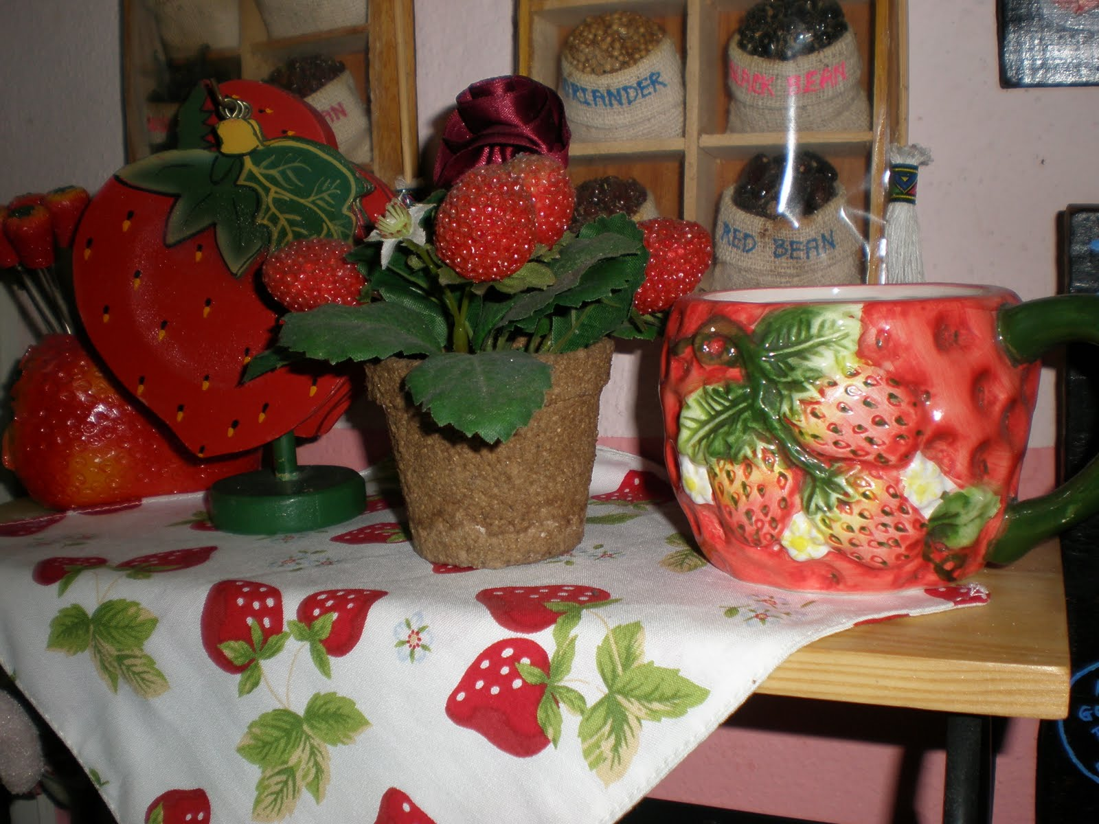 Jaja's soft touch collections: jajameor's strawberry collections