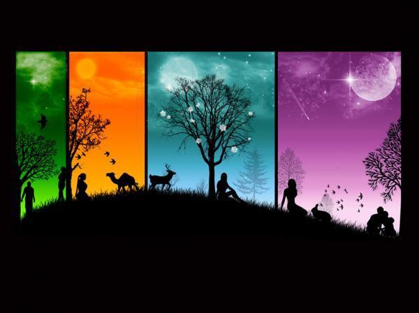 ♥要相信,黑暗的另一边是彩虹和太阳♥