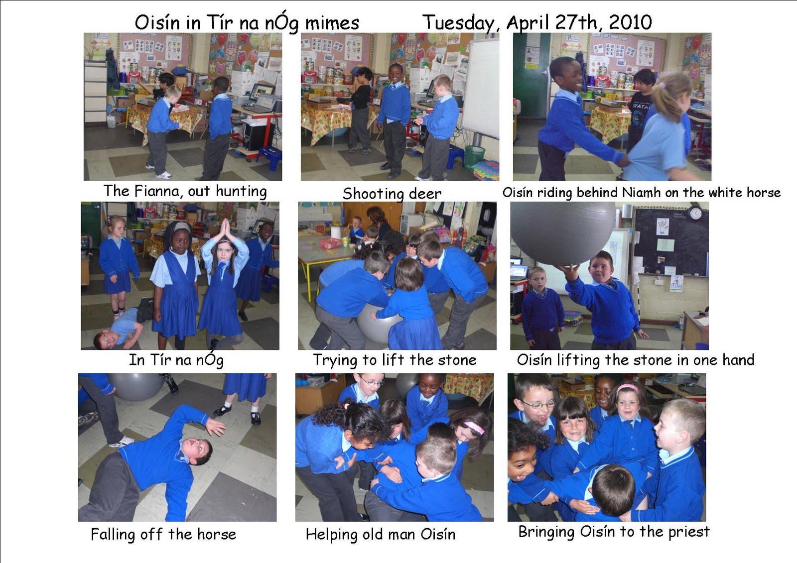 Art Music and Drama Page Ois n in T r na n g in Room 5