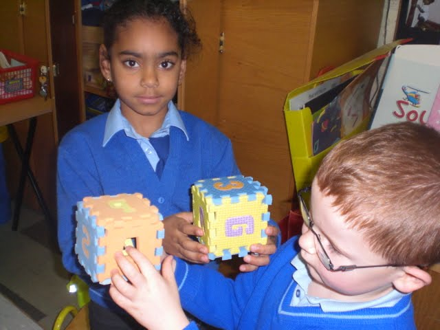 our own 3D shapes: with 3D