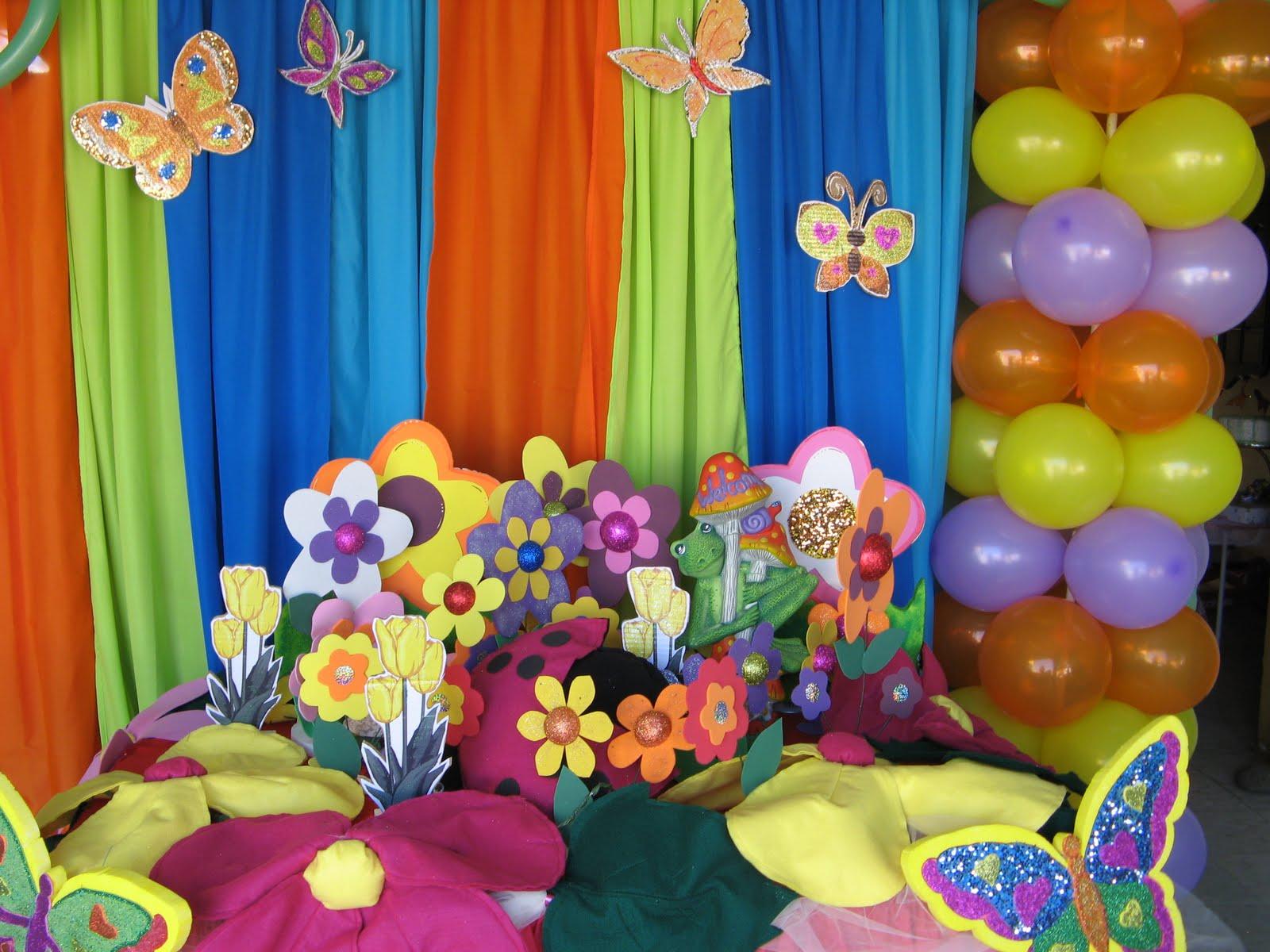 Party Treat's: Decoracion mesa con Mariposas