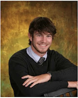Joe smiling. His senior picture.