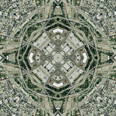Amazing photo of traffic circle by Nikolas R. Schiller, Los Angeles, Calif April 2008