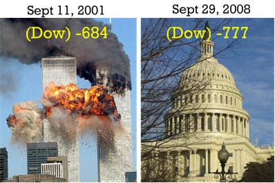 Dow 911 and Financial Crisis