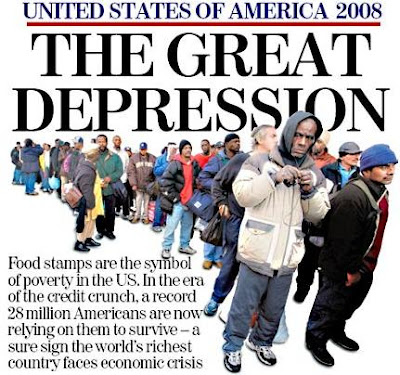 USA 2008 Great Depression