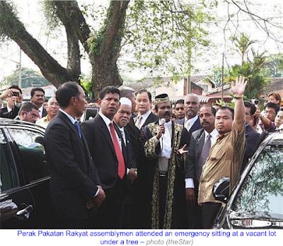 Perak State Assembly Under Tree