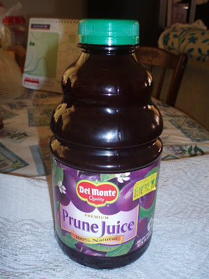 how to take prune juice for constipation