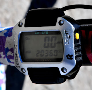 My altimeter is just a wee bit off atop Wolf Creek Pass.