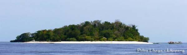 Pulau Lihaga di Likupang