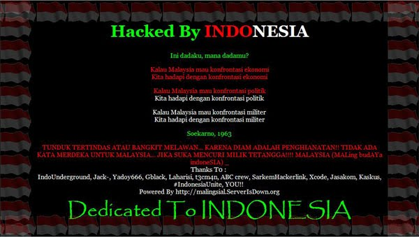 Hacked by Indonesia