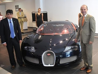 Bugatti Veyron India