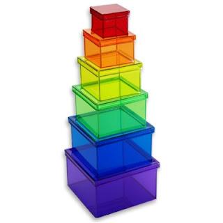Boite de rangement boite plastique en couleur - Grande boite de rangement plastique ...