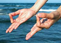 Shivayoga: Jnana Mudra (meditation outside form)