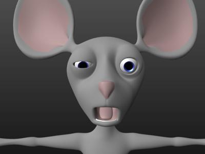 Final Mouse render