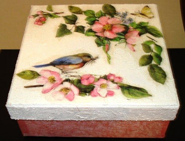 Estremamente Creazioni di Letizia: scatole decorate MY93