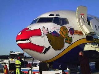 Santa's little accident