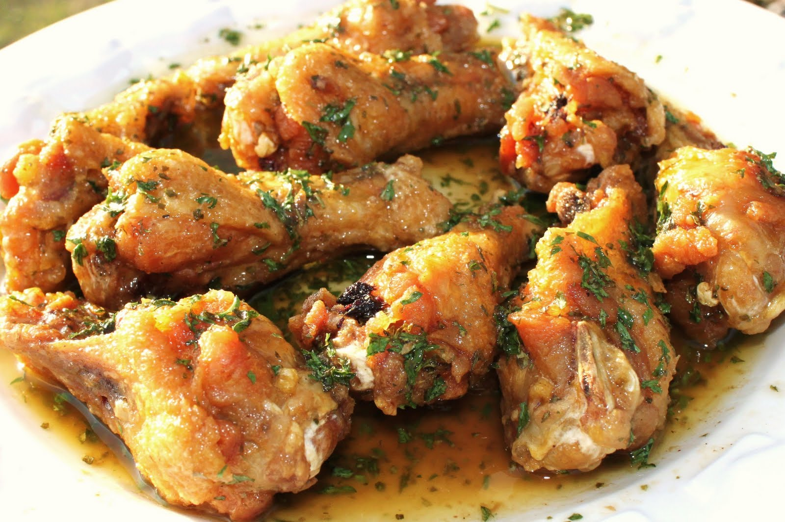 Curt s Italian Chicken Wing Feast  4 flavors  Guest PostItalian Chicken Recipes