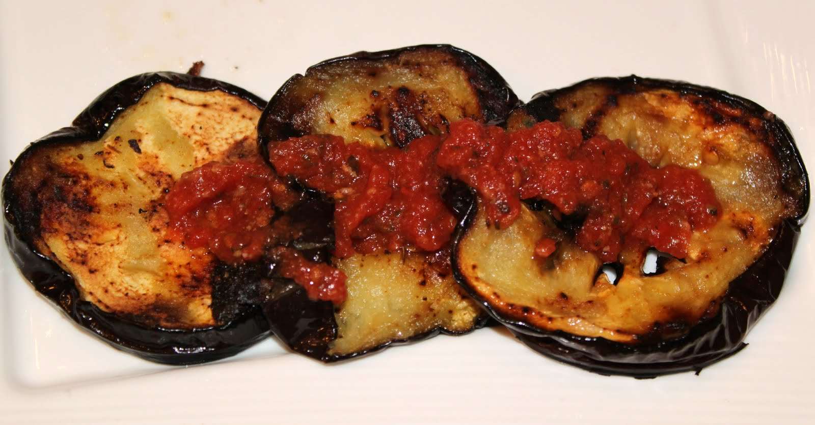 Grilled eggplant with marinara parmesan what 39 s cookin for Side dish recipes for grilling out