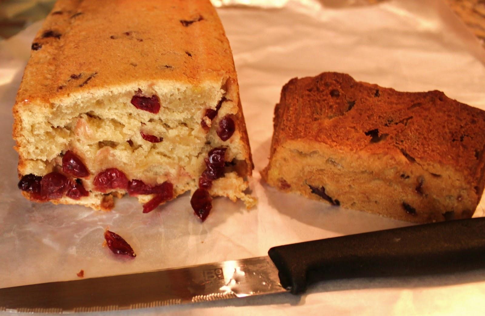 cranberry cream cheese bread