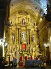 Altar en la Iglesia San Francisco