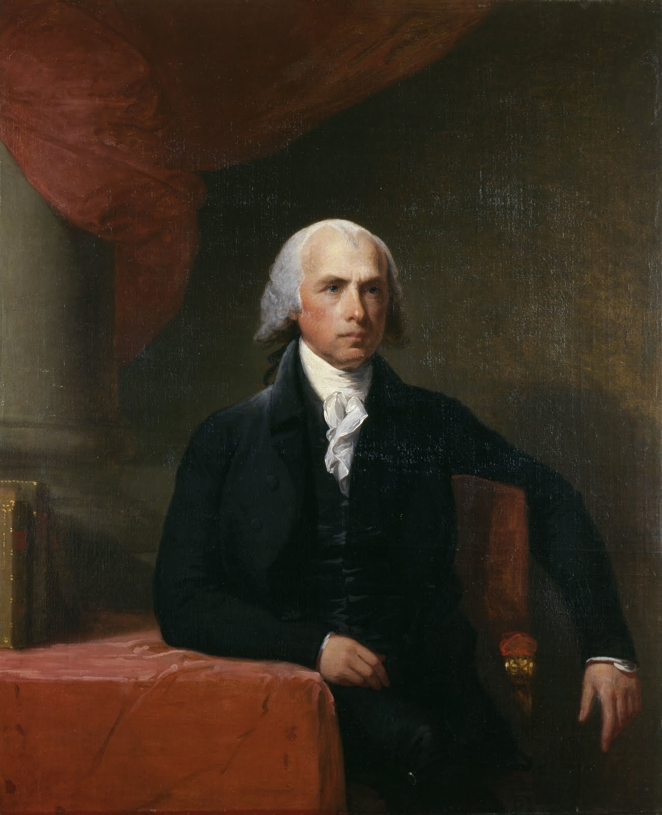 The Dividist Papers Prop  James Madison And Majority Rule James Madison By Gilbert Stuart Prop  James Madison And Majority Rule