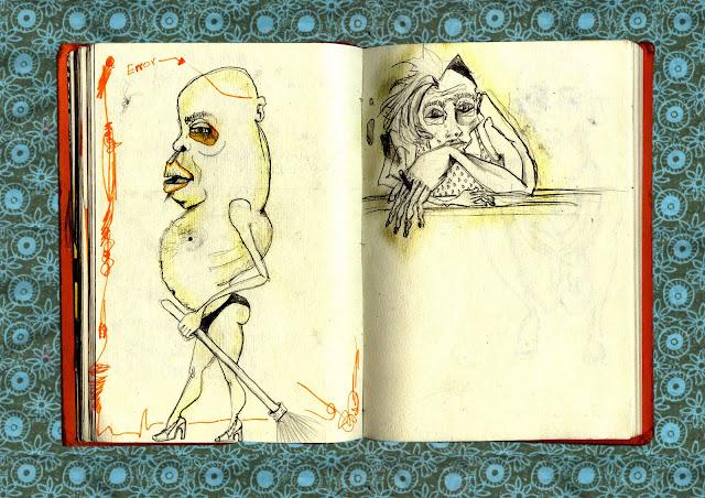 dibujos de cuaderno