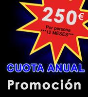 CUOTA ANUAL 250€ APROVECHA ESTA OFERTA HACIEDO CLICK EN LA IMAGEN