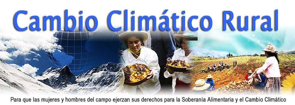 Cambio Climático Rural