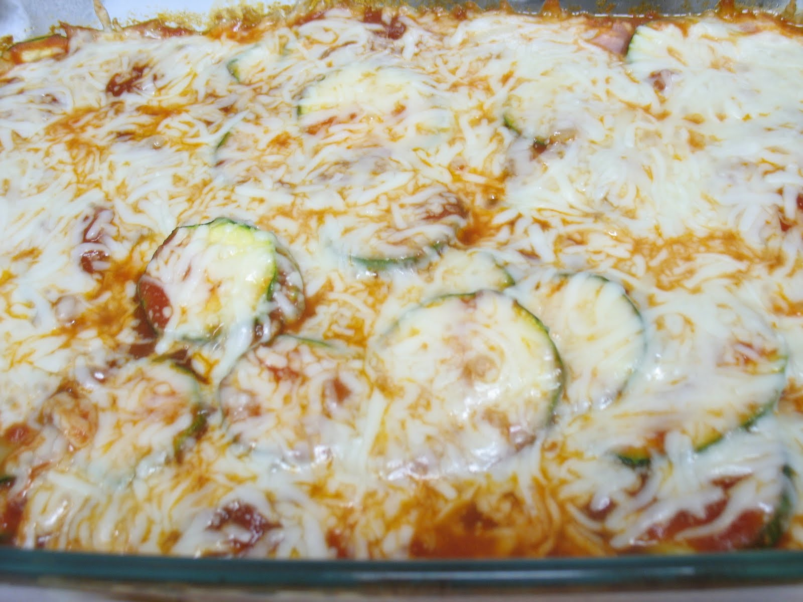 Lola's Homemade Cooking: Zucchini Parmesan
