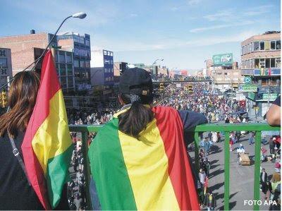 La ciudad de El Alto, Bolivia