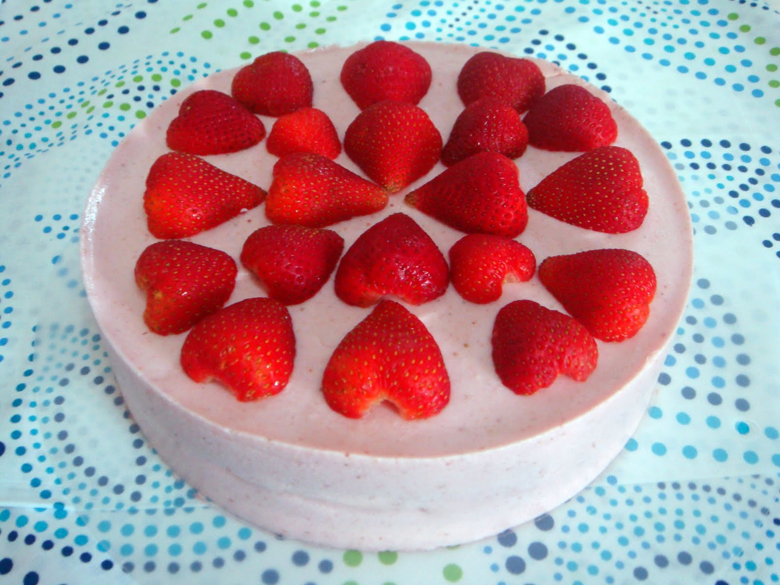 Baking Library: Strawberry Yoghurt Mousse Cake