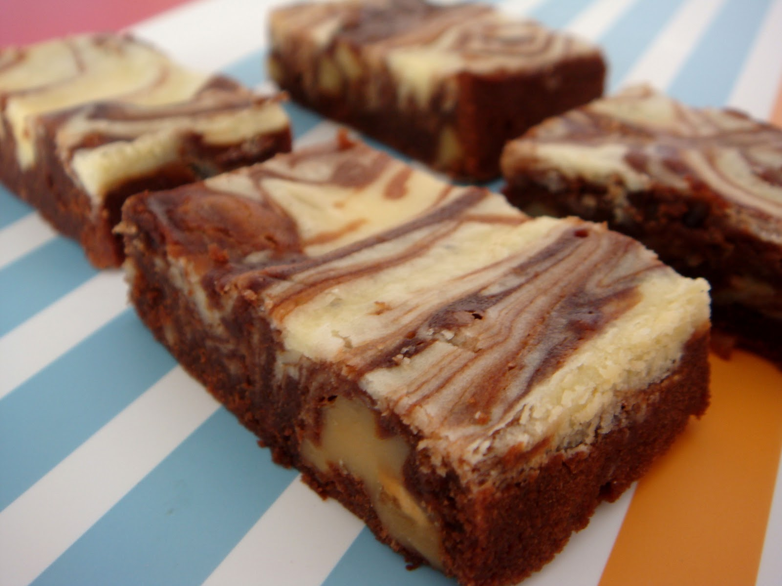 Baking Library: Cream Cheese Marble Brownies