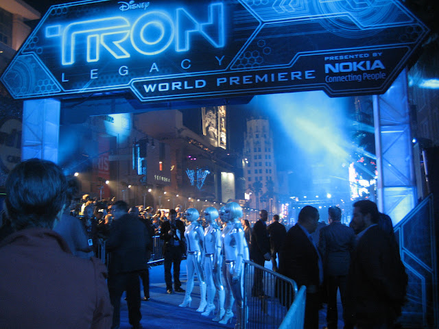 Tron Legacy Hollywood premiere