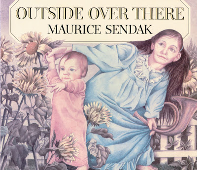 book cover illustration for outside over there