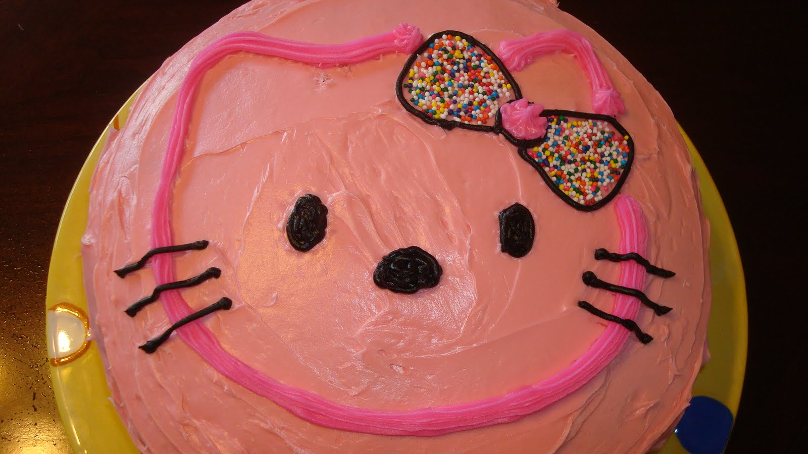 Hello Kitty Icing Cake Design : Fusion Art Designs: Hello Kitty Bday cake!