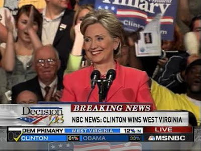 HRC election victory speech Charleston, West Virginia