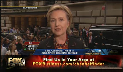 HRC interview Fox Business Network, New York, NY