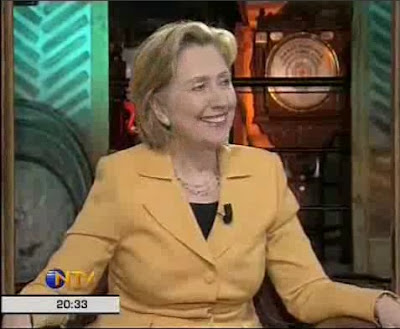 HRC Secretary of State talk show Ankara Turkey NTV