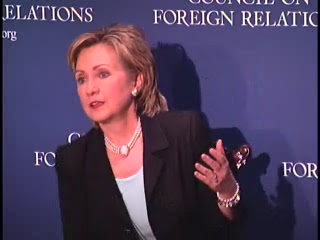 HRC speech CFR NY 2006 video audio