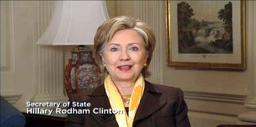 HRC SoS State Dept. Chicago Olympic bid 2016 greetings
