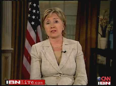 HRC Secretary of State interview IBN Live India exclusive