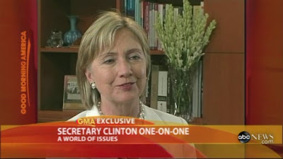 HRC Secretary of State interview New Delhi India ABC