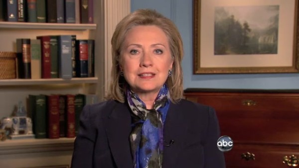 HRC Secretary of State interview Egypt Mubarak ABC News State Department DC