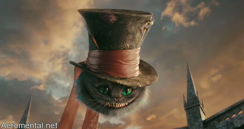 Alice In Wonderland Cheshire Cat Tim Burton