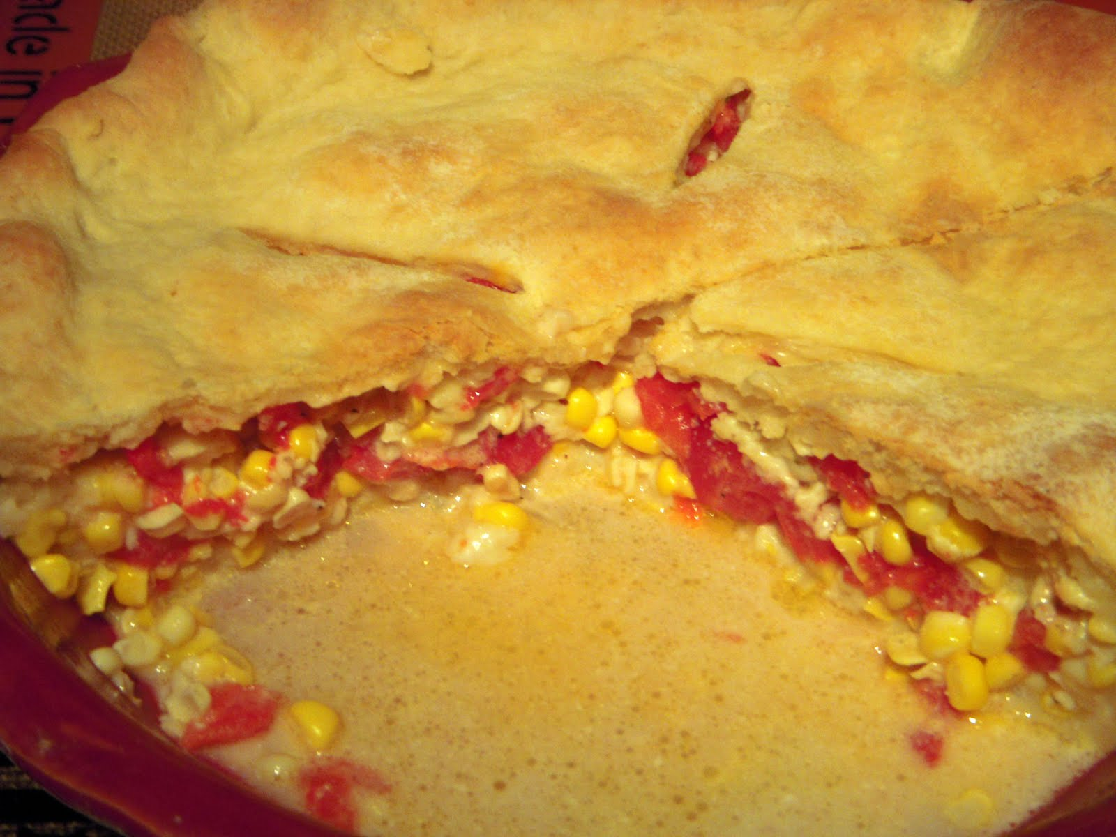 how to make corn pone pie