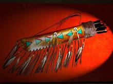 Capas trabalhadas para conjunto de flechas