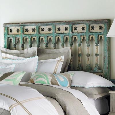 unique bed heads