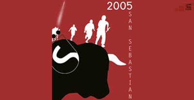 Cartel de fiestas de San Sebastian 2005