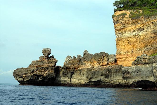 Keindahan Pantai Pulau Nusa Barong, Jember